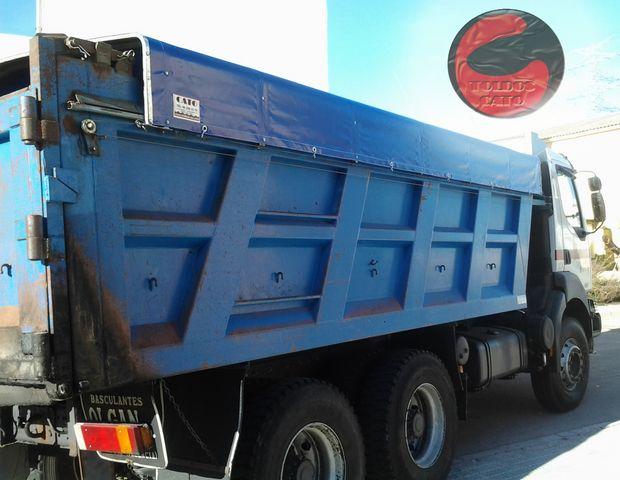 Toldos para camion lonas correderas con gomas lonas for Toldos para camiones